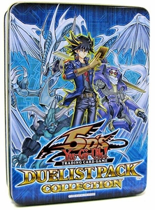 YuGiOh 5D's 2009 Duelist Pack Collection Tin [Stardust Dragon Assault Mode, Moja, Master Gig & Level Returner] [Blue Tin]