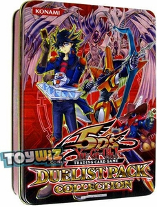 YuGiOh 5D's 2010 Duelist Pack Collection Tin with Starlight Road Promo Card Red Tin