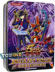 YuGiOh 5D's 2010 Duelist Pack Exclusive Collection Tin with Starlight Road Promo Card Purple Tin