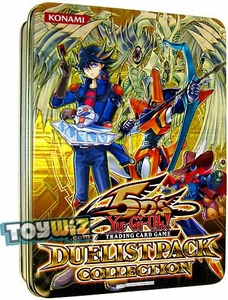 YuGiOh 5D's 2010 Duelist Pack Exclusive Collection Tin with Starlight Road Promo Card Yellow Tin