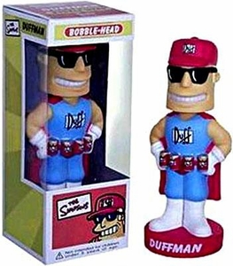 Funko Simpsons Wacky Wobbler Bobble Head Duffman