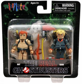 Real Ghostbusters Minimates Mini Figure 2-Pack Series 1 Ray Stantz & Egon Spengler
