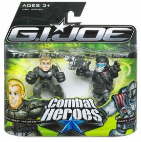 GI Joe The Rise of Cobra Combat Heroes 2-Pack Duke [Accelerator Suit] & Air-Viper