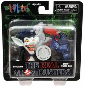 Real Ghostbusters Exclusive Minimates Mini Figure 2-Pack Series 1 Boogieman & Energy Terror Dog