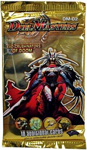 Duel Masters Card Game DM-02 Evo-Crushinators of Doom Booster Pack