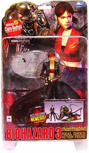 Resident Evil [Biohazard] 3 Japanese Moby Dick Action Figure Series 5 Claire Redfield