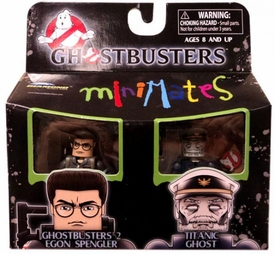 Ghostbusters Minimates Mini Figure 2-Pack Ghostbusters 2 Egon Spengler & Titanic Ghost