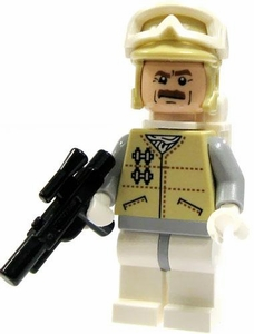 LEGO Star Wars LOOSE Mini Figure Hoth Rebel Trooper Officer with Blaster