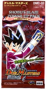 Duel Masters Japanese Card Game DMC-03 Shobu's Blaze Power-Up Pack
