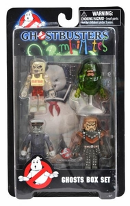 Ghostbusters Minimates Series 4 Box Set [Jogger Ghost, Slimer, Titanic Ghost & Vigo the Carpathian]