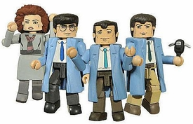 Diamond Select Toys Minimates Ghostbusters 2010 SDCC San Diego Comic Con Exclusive 4-Pack We're Ready to Believe You