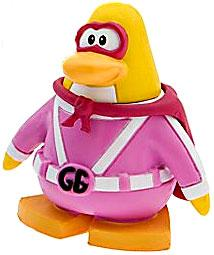 Disney Club Penguin 2 Inch Mini Figure Gamma Girl