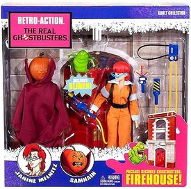 Mattel Retro Action Real Ghostbusters Series 2 Action Figure 2-Pack Janine Melnitz & Samhain