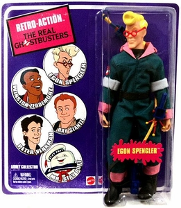 Mattel Retro Action Real Ghostbusters Series 1 Action Figure Egon Spengler