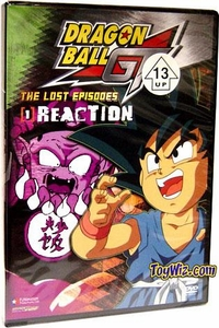 Dragon Ball GT DVD 01: The Lost Episodes - Reaction (UNCUT)