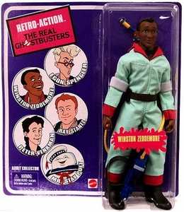 Mattel Retro Action Real Ghostbusters Series 1 Action Figure Winston Zeddemore