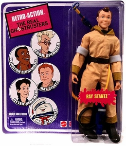 Mattel Retro Action Real Ghostbusters Series 1 Action Figure Ray Stantz