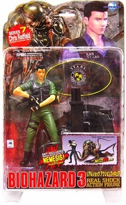 Resident Evil [Biohazard] 3 Japanese Moby Dick Action Figure Series 7 Chris Redfield