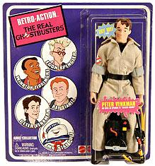 Mattel Retro Action Real Ghostbusters SDCC 2010 San Diego Comic Con Exclusive Action Figure Peter Venkman