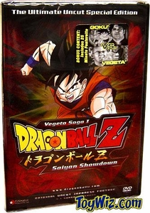 Dragon Ball Z DVD Vegeta Saga 1.01 Saiyan Showdown (UNCUT) Special Edition