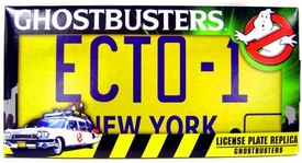Ghostbusters ECTO-1 License Plate Replica