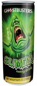 Energy Drink Ghostbusters Slimed!