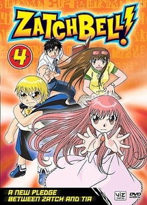 Zatch Bell DVD 04 A New Pledge Between Zatch and Tia