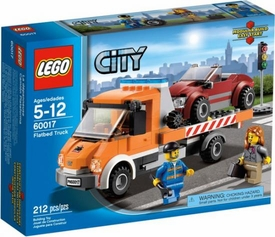 LEGO City Set #60017 Flatbed Truck