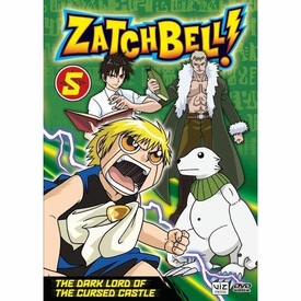 Zatch Bell DVD 05 The Dark Lord of the Cursed Castle