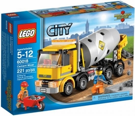 LEGO City Set #60018 Cement Mixer