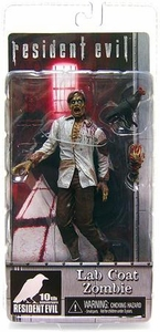 NECA Resident Evil 10th Anniversary Exclusive Action Figure Lab Coat Zombie with Raven BLOWOUT SALE!