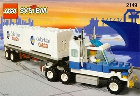 LEGO City Set #2149 Color Line Container