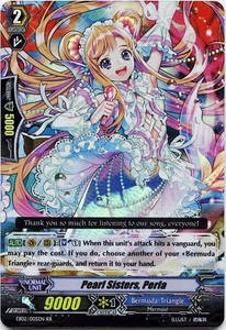 Cardfight Vanguard ENGLISH Banquet of Divas Single Card RR Rare EB02-005EN Pearl Sisters, Perla