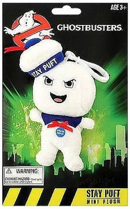 Ghostbusters 4 Inch Talking Mini Plush Clip On Stay Puft Marshmallow Man