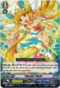 Cardfight Vanguard ENGLISH Banquet of Divas Single Card Rare EB02-009EN Top Idol, Flores