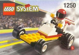 LEGO City Mini Figure Set #1250 Dragster