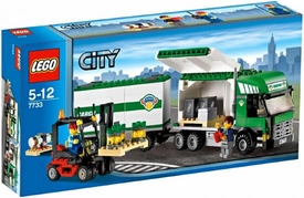 LEGO City Exclusive Set #7733 Truck & Forklift