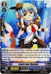 Cardfight Vanguard ENGLISH Banquet of Divas Single Card Common EB02-018EN Inteli Idol, Mervill