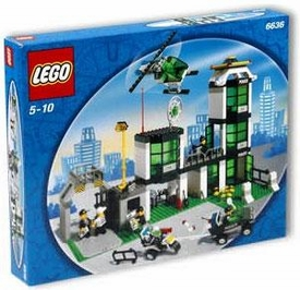 LEGO City Set #6636 Command Post Central