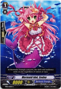Cardfight Vanguard ENGLISH Banquet of Divas Single Card Common EB02-021EN Mermaid Idol, Sedna