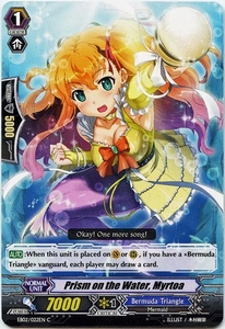 Cardfight Vanguard ENGLISH Banquet of Divas Single Card Common EB02-022EN Prism on the Water, Myrtoa