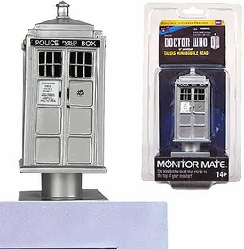 Bif Bang Pow! Doctor Who Monitor Mate Bobble Head 50th Anniversary Tardis