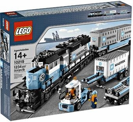 LEGO Exclusive Set #10219 Maersk Train