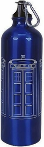 Bif Bang Pow!  Doctor Who Aluminum Water Bottle Tardis