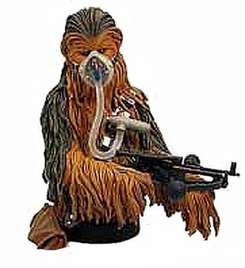 Star Wars Gentle Giant Exclusive 7 Inch Mini Bust Chewbacca [Mynock Hunt] Damaged Package, Mint Contents!