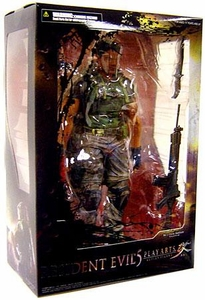 Resident Evil Play Arts Kai 9 Inch Action Figure Chris Redfield