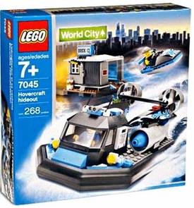 LEGO City Set #7045 Hovercraft Hideout
