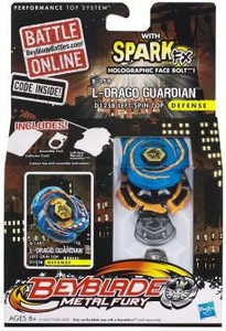 Beyblades Metal Fury Spark FX Defense  #B-159 L-Drago Guardian D125B