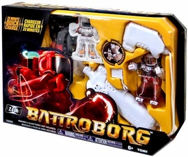 Battroborg Battling Robot Single Pack Red / White