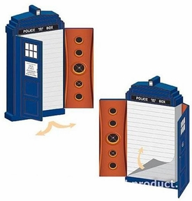 Bif Bang Pow! Doctor Who Tardis Journal